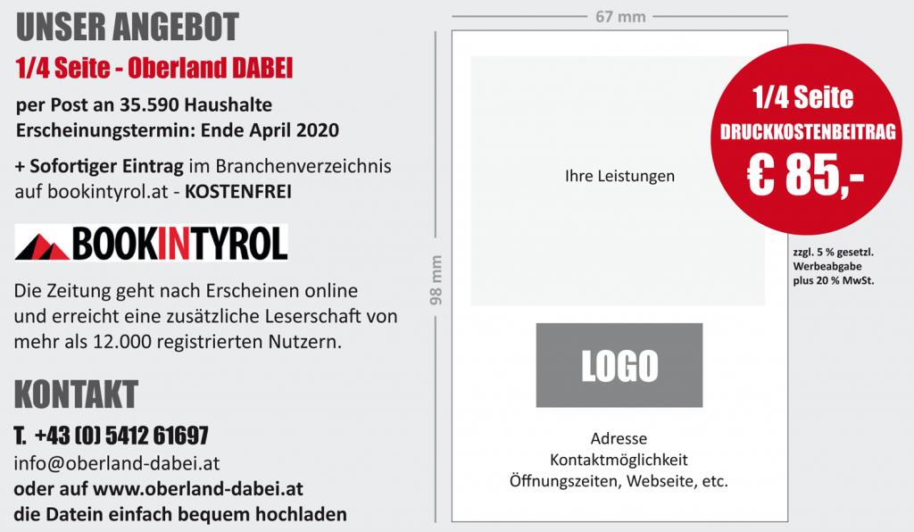 Tiroler Firmen halten zusammen - Oberland DABEI