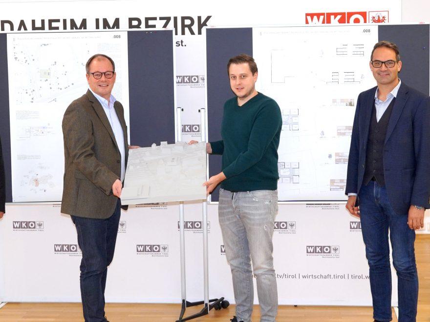 Vorstellung Siegerprojekt Neubau WKO Imst